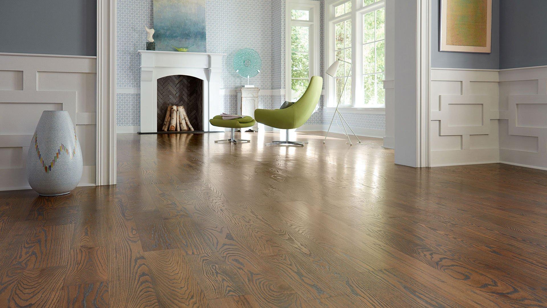 Fresh Hardwood Floors Stained Wood Oak Floors