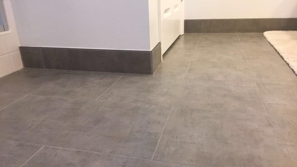 Heavy-Duty Commercial Tile Installation Office Building