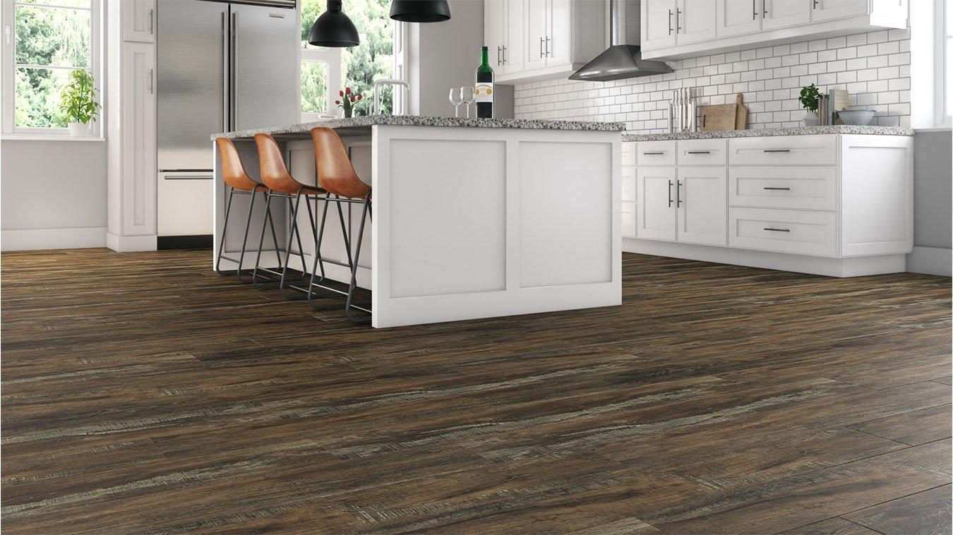 Brown Textured Flooring