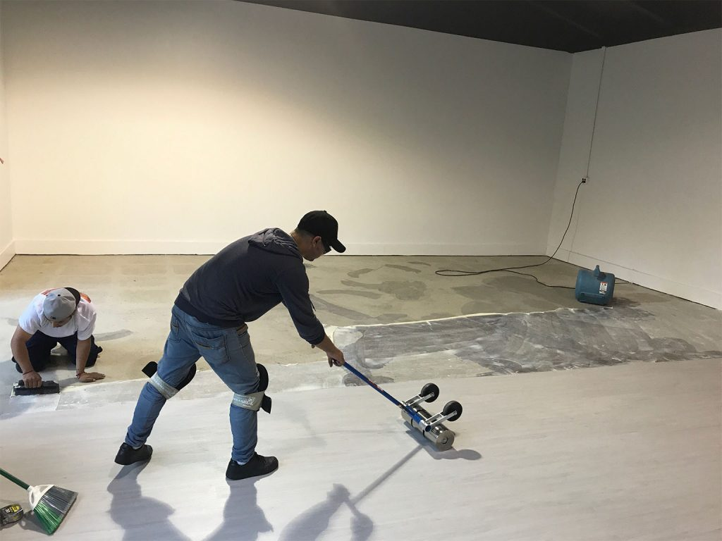 Prepping Subfloor For Hard Surface Product