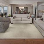 Luxury Custom Rug in Living Room